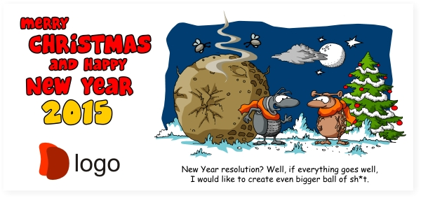 Original unique new year cards christmas cards 2013 company original unique new year cards christmas cards 2013 company corporate new year cards custom made cartoon and funny wishes reheart Choice Image